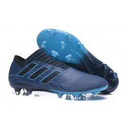 adidas Nemeziz Messi 17+ 360 Agility FG Soccer Boots - Cyan Black