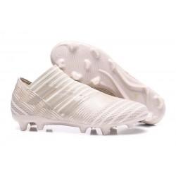 adidas Nemeziz Messi 17+ 360 Agility FG Soccer Boots - Beige White