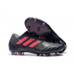 adidas Nemeziz Messi 17+ 360 Agility FG Soccer Boots - Black Pink