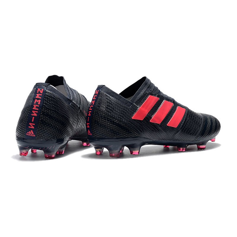 22d2b85e9c1 adidas Nemeziz Messi 17+ 360 Agility FG Soccer Boots - Black Pink
