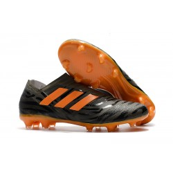 adidas Nemeziz Messi 17+ 360 Agility FG Soccer Boots - Black Orange