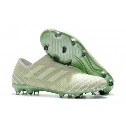 adidas Nemeziz Messi 17+ 360 Agility FG Soccer Boots - Green White