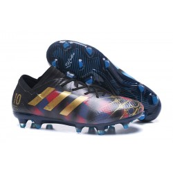 adidas Men's Nemeziz Messi 17.1 FG Soccer Boots Red Blue Gold