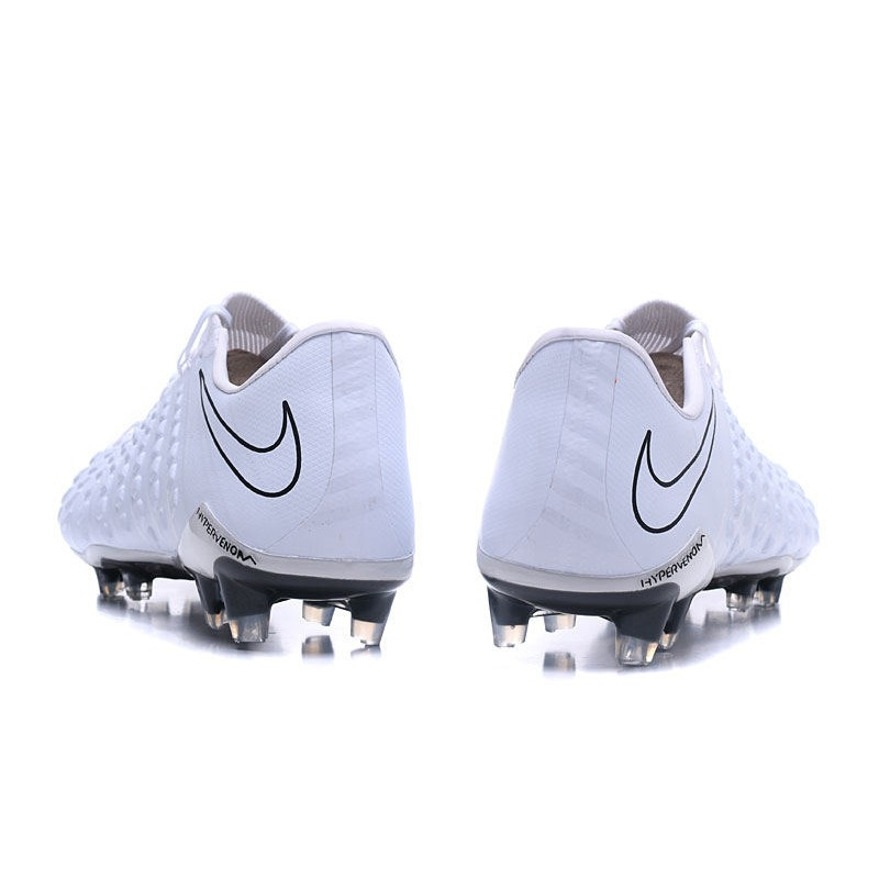 e87a7c411 Nike Hypervenom Phantom III FG Soccer Cleats All White