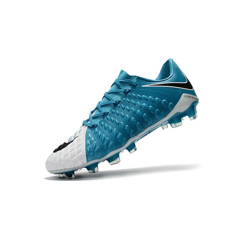 online store b0f6d cb5d6 Nike Hypervenom Phantom 3 FG Neymar Football Boots - Blue White