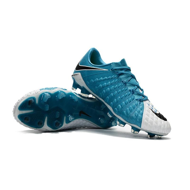 online store a6edb d69ec Nike Hypervenom Phantom 3 FG Neymar Football Boots - Blue White