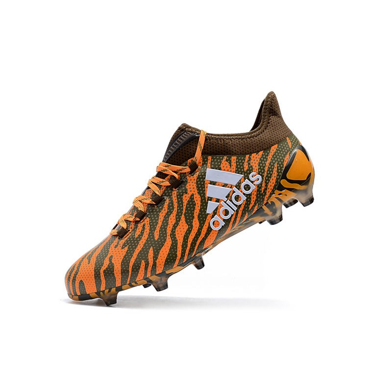 buy online 83a3b 080e1 adidas X 17.1 Mens FG Football Shoes - Orange Brown