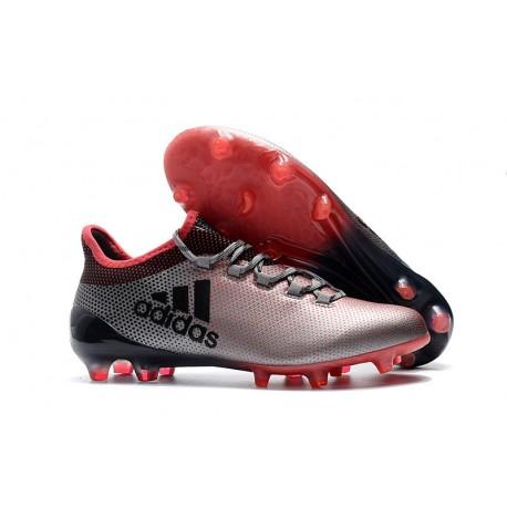 the best attitude 4d32f 9824d adidas X 17.1 Mens FG Football Shoes - Pink Black