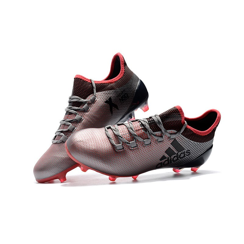 adidas X 17.1 Mens FG Football Shoes - Pink Black 70bc370d5ef