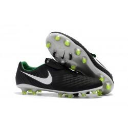 Nike Magista Opus 2 FG Men Soccer Boots - Black White