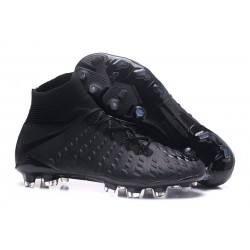 Nike Hypervenom Phantom III DF FG Football Boots - All Black