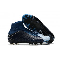 Nike Hypervenom Phantom III DF FG Football Boots - Black White