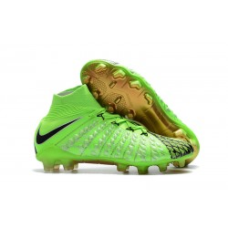 Nike EA Sports Hypervenom Phantom 3 Dynamic Fit FG Cleats - EA Sports Green Black