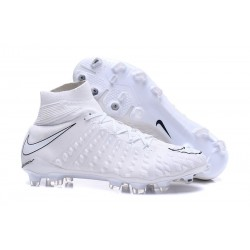 Nike Hypervenom Phantom 3 Dynamic Fit FG Cleats - All White