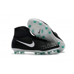 Nike Magista Obra II FG Men's Soccer Cleats - Black White