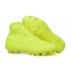 Nike Magista Obra II FG Men's Soccer Cleats - Yellow