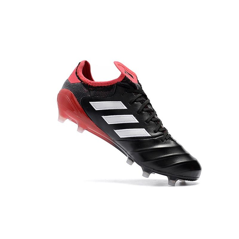 f65d07a12 Adidas Copa 18.1 FG K-leather Soccer Cleats - Black White Red