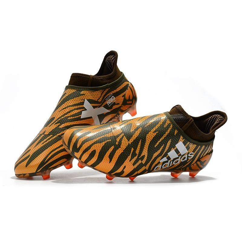 info for 838a4 5b6a9 adidas X 17+ Purespeed FG Firm Ground Football Boots - Orange Black