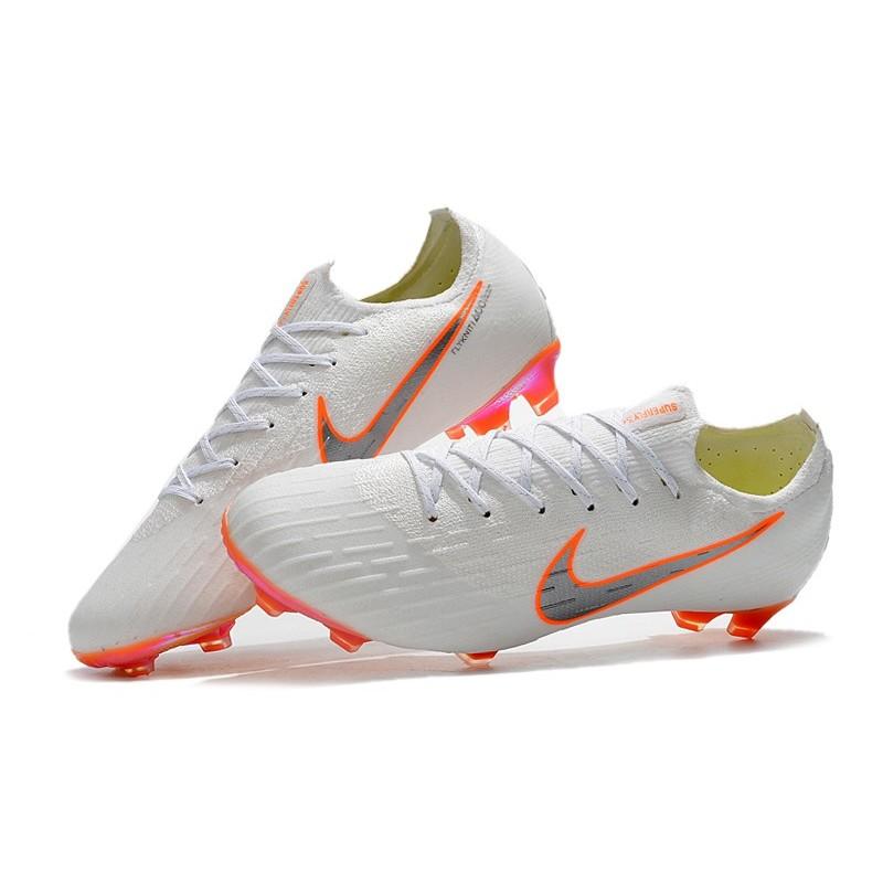 074147a60df Nike 2018 New Mercurial Vapor XII Elite FG Football Boots White ...