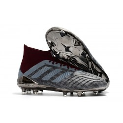 Paul Pogba adidas PP Predator 18.1 FG World Cup Iron Metallic