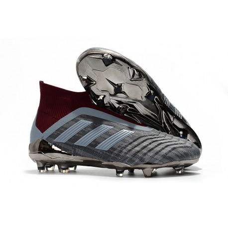 frijoles necesario diagonal  Paul Pogba adidas PP Predator 18+ FG Iron Metallic