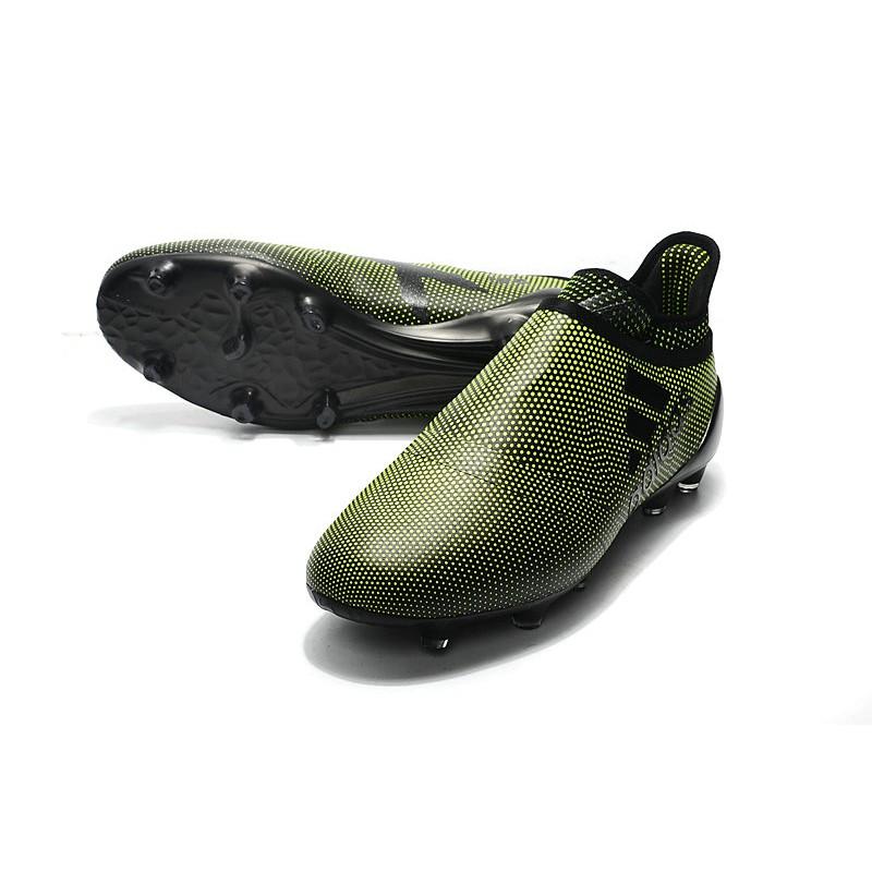 ee9afae7d72e adidas Men's X 17+ PURESPEED FG Soccer Cleats - Deep Green