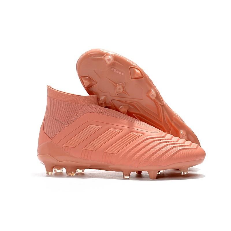 New World Cup adidas Predator 18+ FG Firm Ground Boots Pink