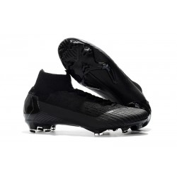Nike Mercurial Superfly 6 Elite FG New Mens Cleats - Black