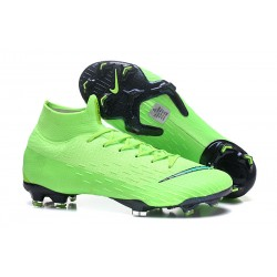 Nike Mercurial Superfly 6 Elite FG New Mens Cleats - Green