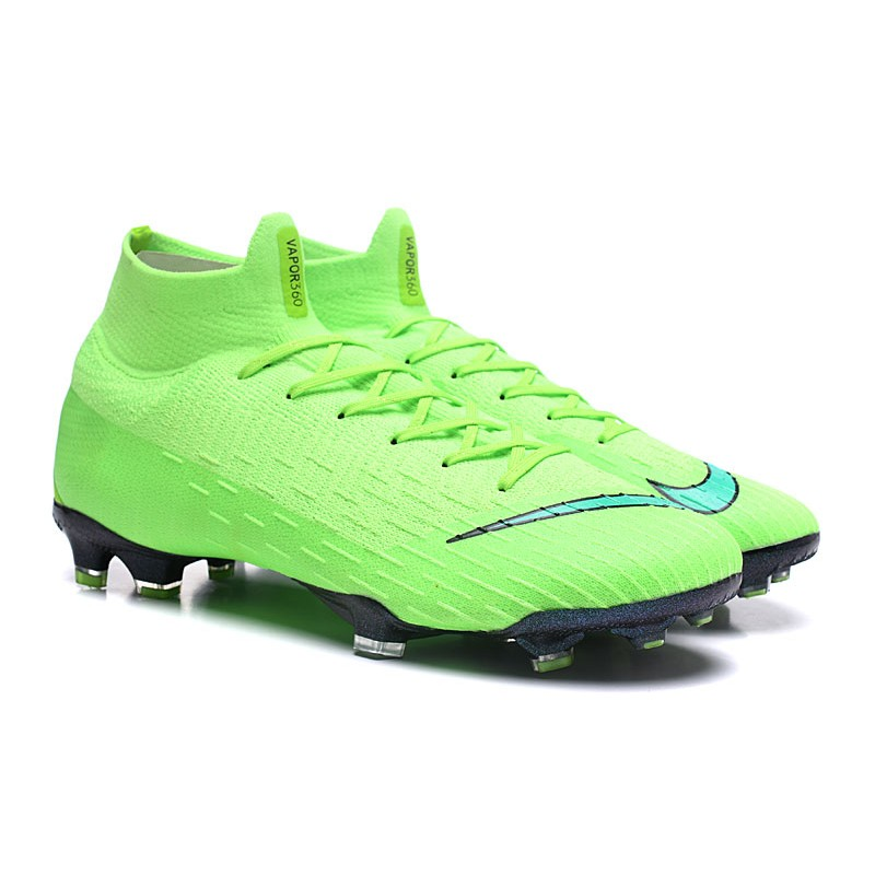 quality design 86879 714c4 Nike Mercurial Superfly 6 Elite FG New Mens Cleats - Green