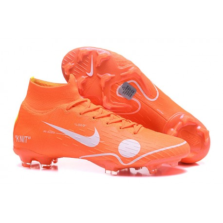 buy popular 7abde 89301 Nike Mercurial Superfly 6 Elite FG New Mens Cleats -Off White Orange