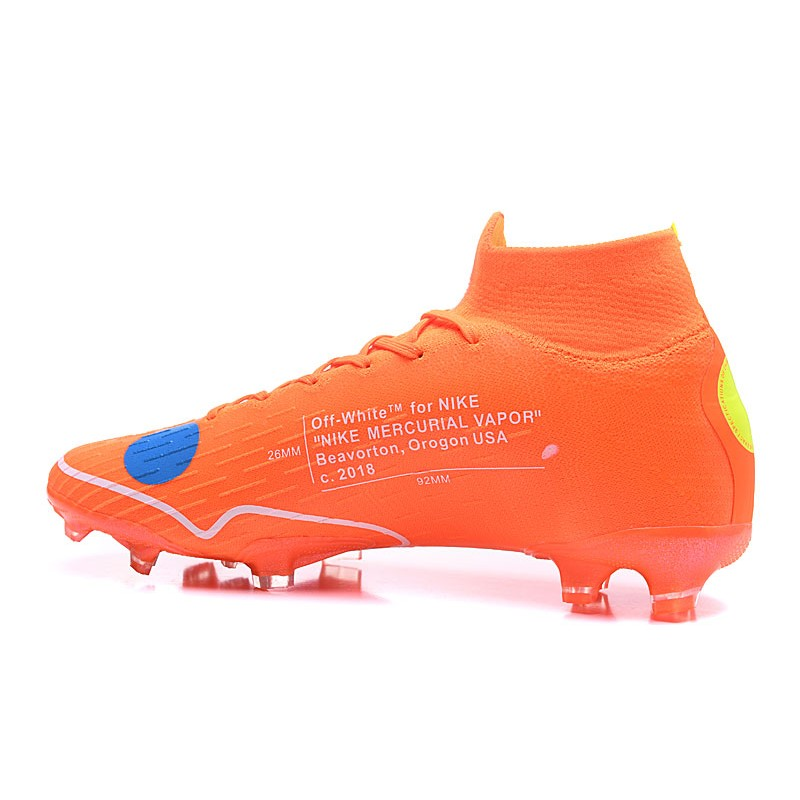 buy popular a4011 4bee2 Nike Mercurial Superfly 6 Elite FG New Mens Cleats -Off White Orange