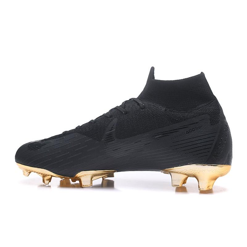 c4bf6e6bf Nike 2018 Mercurial Superfly VI Elite FG Football Boots - Black Gold