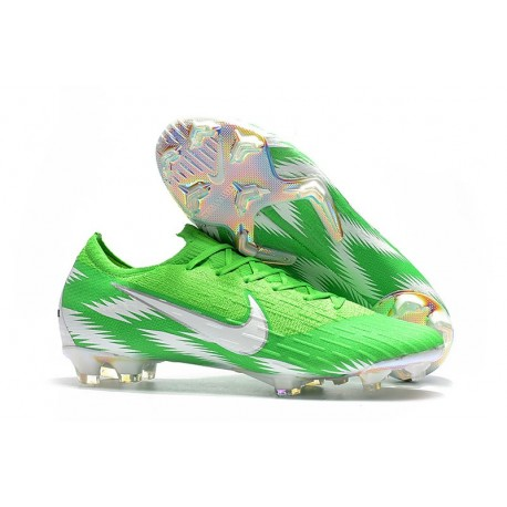 81fcb4ba4 Nike 2018 New Mercurial Vapor XII Elite FG Football Boots Green Silver