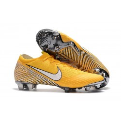 Nike 2018 New Neymar Mercurial Vapor XII Elite FG Football Boots Yellow