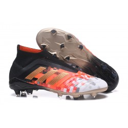 adidas Predator Telstar 18+ FG Firm Ground Boots - Black Metallic Copper