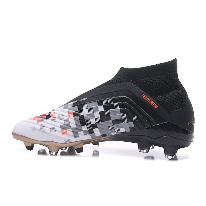 495c04f5b adidas Predator Telstar 18+ FG Firm Ground Boots - Black Metallic Copper