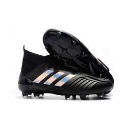 adidas 2018 Predator 18.1 FG Soccer Cleats - Black Silver
