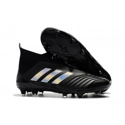 New adidas Predator 18+ FG Firm Ground Boots - Black Silver