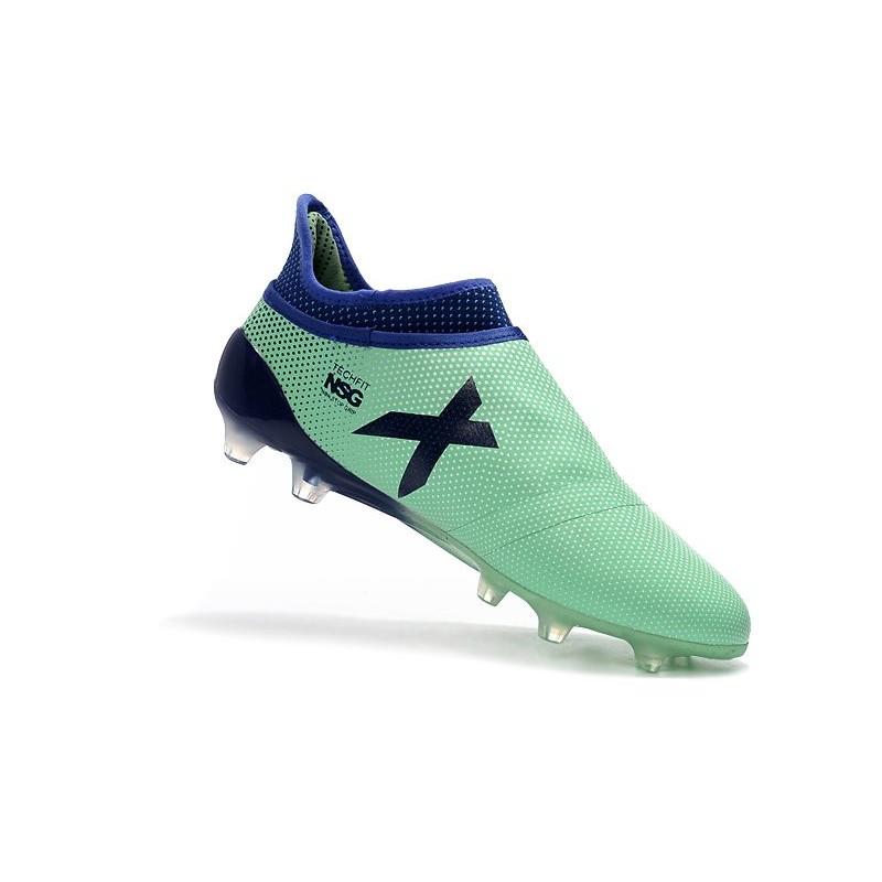 8c2b034f4 adidas X 17+ Purespeed FG Firm Ground Football Boots - Green Black