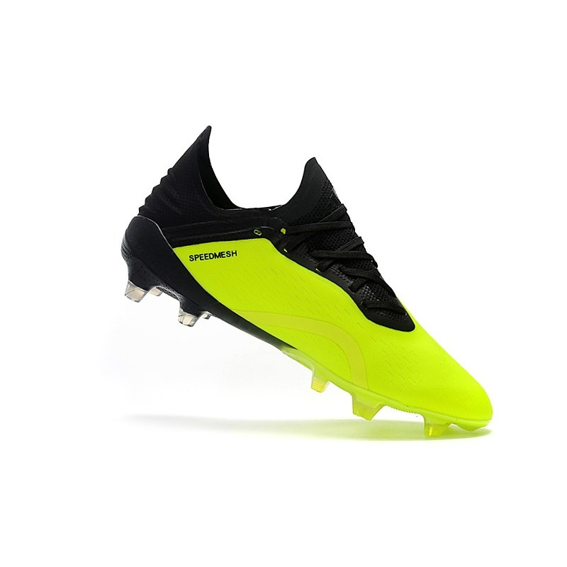f7bb28963d2 adidas X 18.1 FG Firm Ground Soccer Cleats - Yellow Black