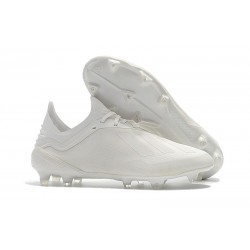 adidas X 18.1 FG Firm Ground Soccer Cleats - All White
