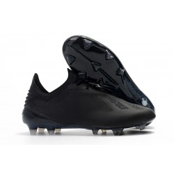 adidas X 18.1 FG Firm Ground Soccer Cleats - All Black
