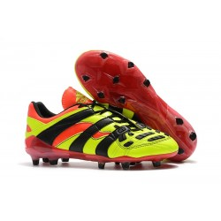 Adidas Predator Accelerator New FG Cleat - Electricity Red Black