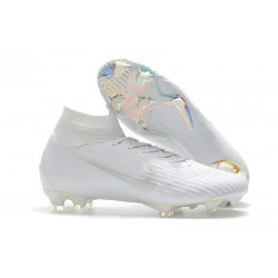 Nike Mercurial Superfly VI Elite FG New Top Cleats - White