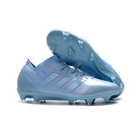 a8fe54a8456 World Cup adidas Nemeziz 18.1 Messi FG Soccer Cleats - Blue