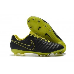 Nike Tiempo Legend 7 FG New Soccer Boots - Black Green