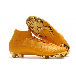Nike Mercurial Superfly 6 Elite ACC FG Men's Boot - Golden