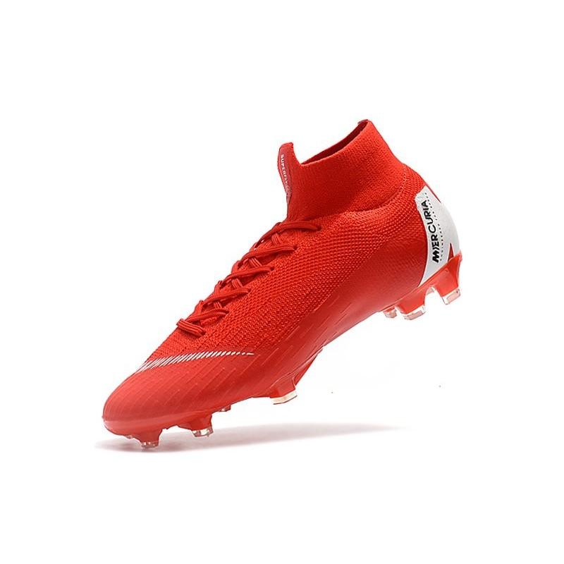 buy online 742dc 7b4e4 Nike Mercurial Superfly 6 Elite ACC FG Men's Boot - Red White