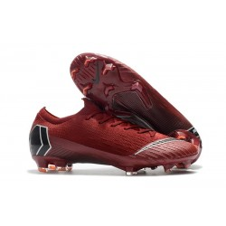 New Nike Mercurial Vapor XII Elite FG Cleats - Red Black